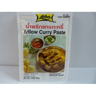 Lobo yellow curry 50gr