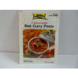 Lobo red curry 50gr