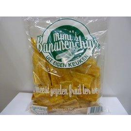 Bananen chips gezouten 150gr 3 zakken