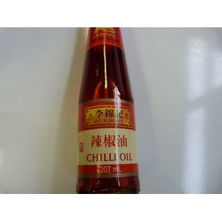 Lee Kum Kee hot chilli oil 207ml