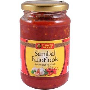 flower brand sambal knoflook 375g