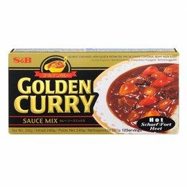 S&B golden curry hot 240gr