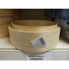 Bamboo steamer 6 inch base