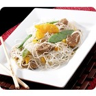 Duck with rice Noodles and Orange
