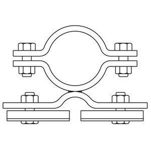Bordbeugel STAAL enkelzijdig-dubbel (020)