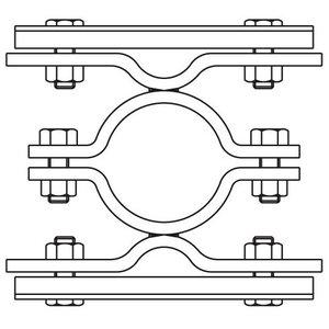 Bordbeugel STAAL dubbelzijdig (017)