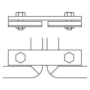 Bordbeugel ALUMINIUM gaas-hekwerk (012)