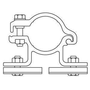 Bordbeugel ALUMINIUM enkelzijdig/dubbel (010)