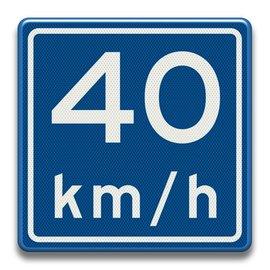 Verkeersbord RVV A0440