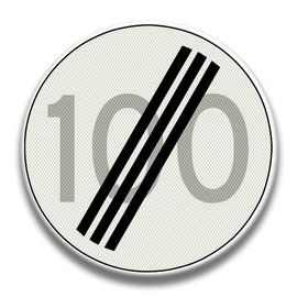 Verkeersbord RVV A02100
