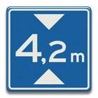 Verkeersbord RVV L01-42