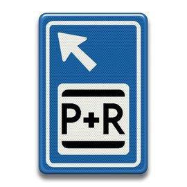 Verkeersbord RVV BW101lbSp03