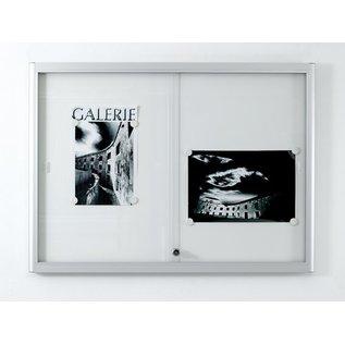Informatiekast 2 x A4 Wandmodel - Binnen