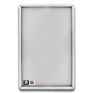 Tekstbord wit/zwart - 1 REGEL 600 x 200 mm