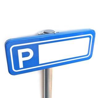 Parkeerplaatsbord Personeel 400 x 150 mm