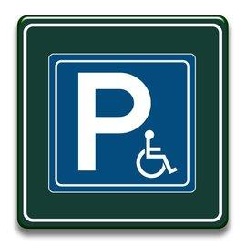 Parkeerbord invaliden