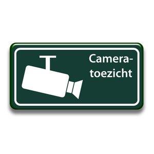 Cameratoezicht bord 400 x 200 mm