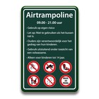 Airtrampoline bord regels