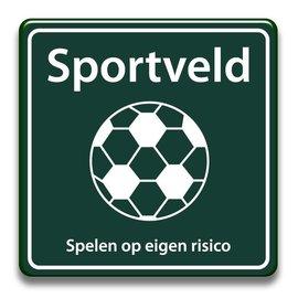 Sportveld eigen risico