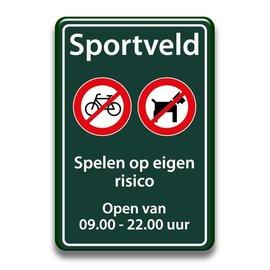 Sportveld regels