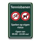 Tennisbanen regels
