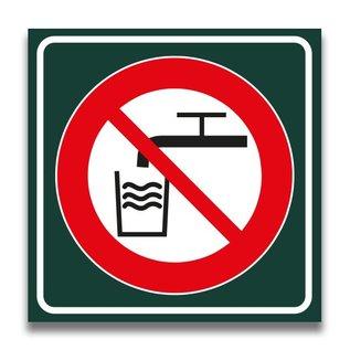 Toiletbord geen drinkwater