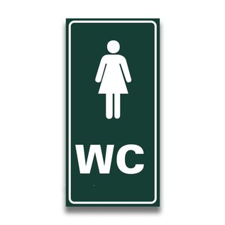Toiletbord toilet dames wc