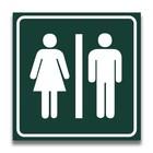 Toiletbord toilet dames-heren