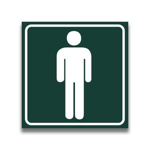 Toiletbord toilet heren