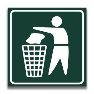 Toiletbord vuilnisbak