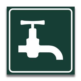 Toiletbord watertappunt