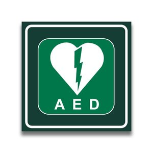 Defibrillator in vlak