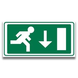 Nooduitgang 1 rechtdoor - VOIS-shop
