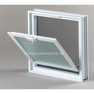 Fenster Aus Glasbausteinen lüftungsfenster 384x384x80mm glasbausteineshop de glasbausteine