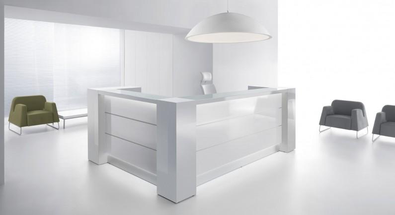 empfangstheke vale l form 220 x 190cm eckig empfangstheken as. Black Bedroom Furniture Sets. Home Design Ideas