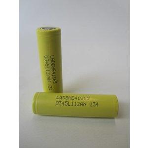 LG HE4 18650 Batterij 2500mah