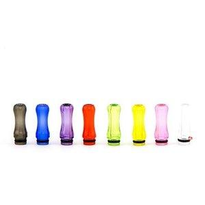 Drip Tip kunststof mixed colour (bestelling/prijs per 10 stuks)