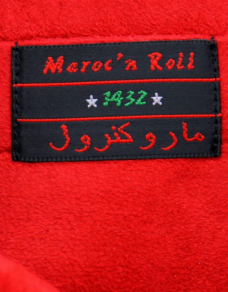 Maroc 'n Roll Pochette cloutée en cuir de vachette - Noir