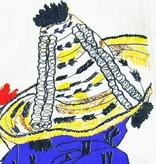 Lalla de Moulati Draagtas uit katoen jbela - Wit