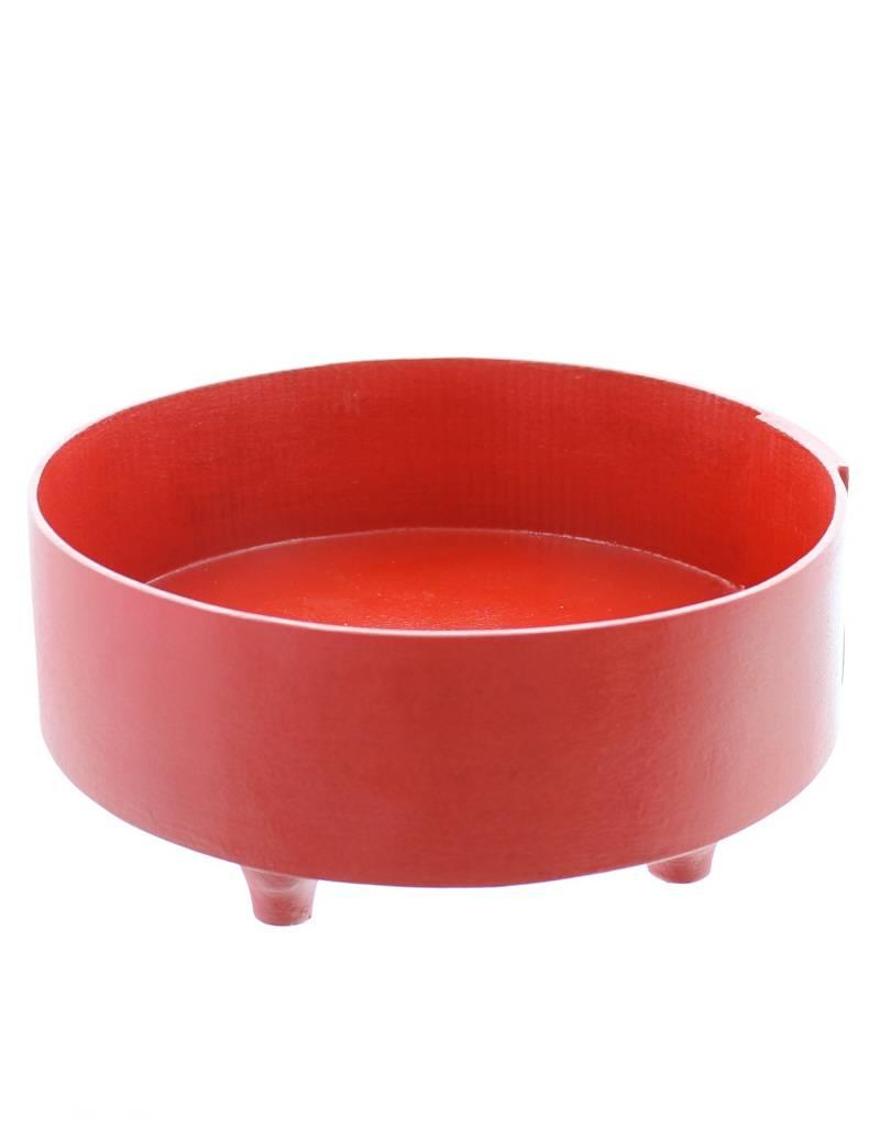Bladi Design Serving bowl in beechwood L - Red