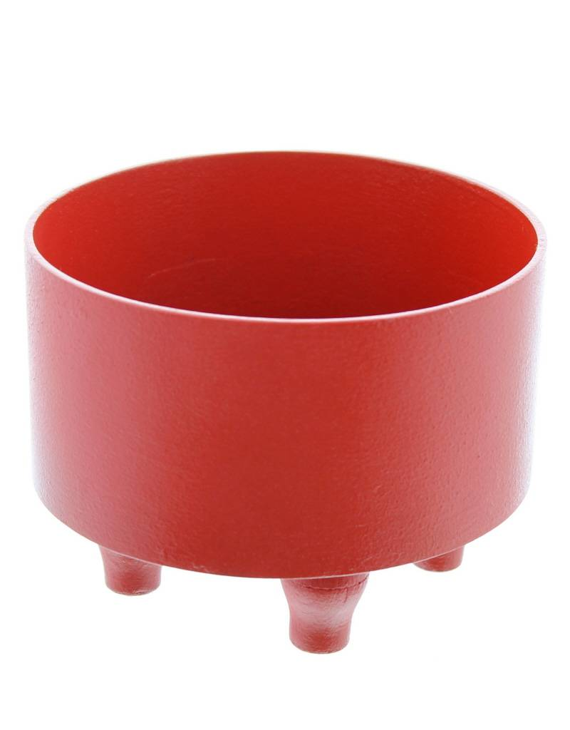 Bladi Design Serving bowl in beechwood S - Red