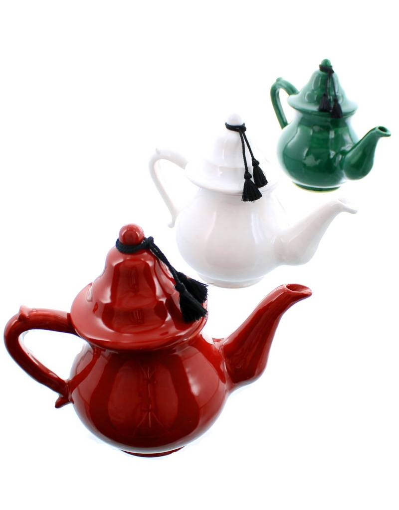 Bladi Design ceramic teapot