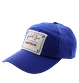 Marrakshi Life Casquette brodée main Marrakchi - Bleu