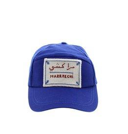 """Marrakshi Life Pet met opschrift """"Marrakchi"""" - Blauw"""