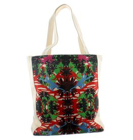Lalla de Moulati tote bag tropical
