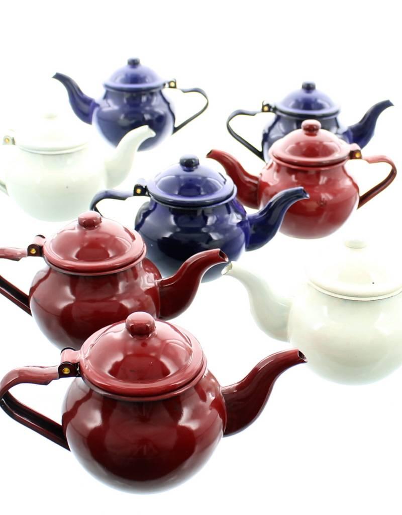 Chabi Chic enamel teapot