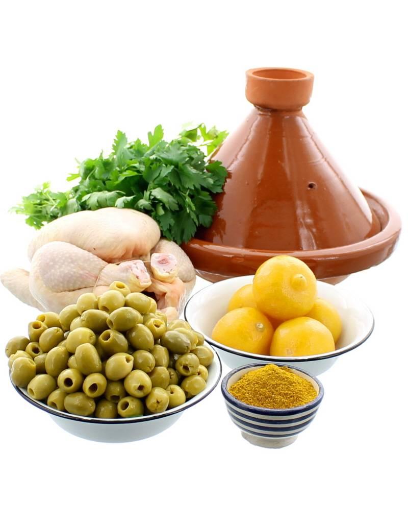 Chabi Chic Kit tajine - Le classique de la cuisine marocaine