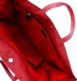 Maroc 'n Roll Soepele kalfslederen draagtas XL - Zwart