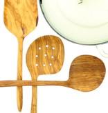 Chabi Chic Set keukengerei XL uit natuurlijk olijfhout