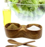 Chabi Chic Zout en peper stel uit natuurlijk olijfhout